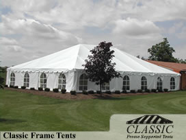 Frame Tent w/ Wall